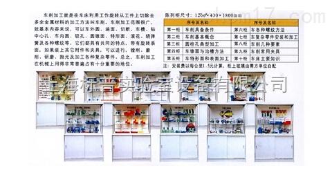 《车工工艺学》示教陈列柜|机械陈列柜机械制图教学模型