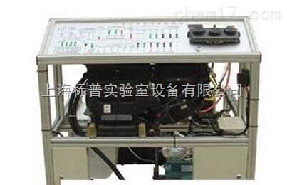 大众桑塔纳2000汽车手动空调实训台(电机带动,制热型)|汽车空调系统实训台