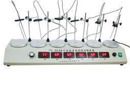 HJ-6A恒温多头磁力搅拌器厂家供应