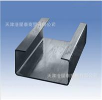 Q235BC型钢 Q345BC型钢 镀锌C型钢价格
