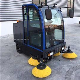 湖北大冶駕駛式掃地機 電動路麵清掃機