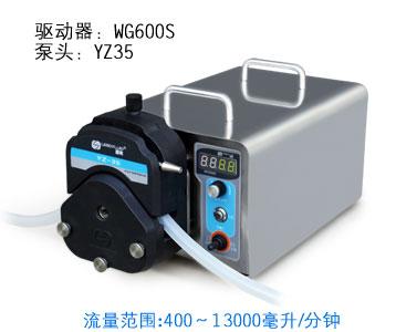四川用户订购WG600S工业型蠕动泵分享