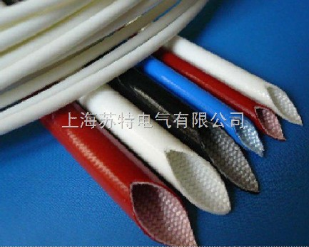 玻璃纤维自熄管由无碱玻璃纤维编织,涂以有机硅聚树脂经高温处理而成