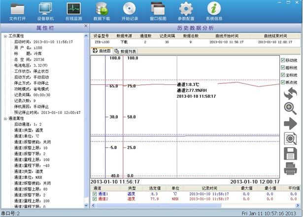 酸奶保存温度记录仪_酸奶记录仪温度出厂价_