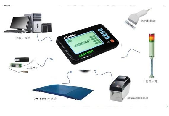 上海大升电子称传感器接线图