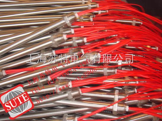 暖气片加热棒指管状电加热元件的结构是在一金属管内放入电热丝,并在