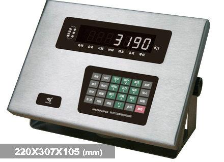 XK3190—DS3汽车电子磅称重仪表