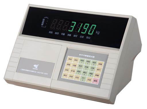 地上衡XK3190-DS3q1称重显示器