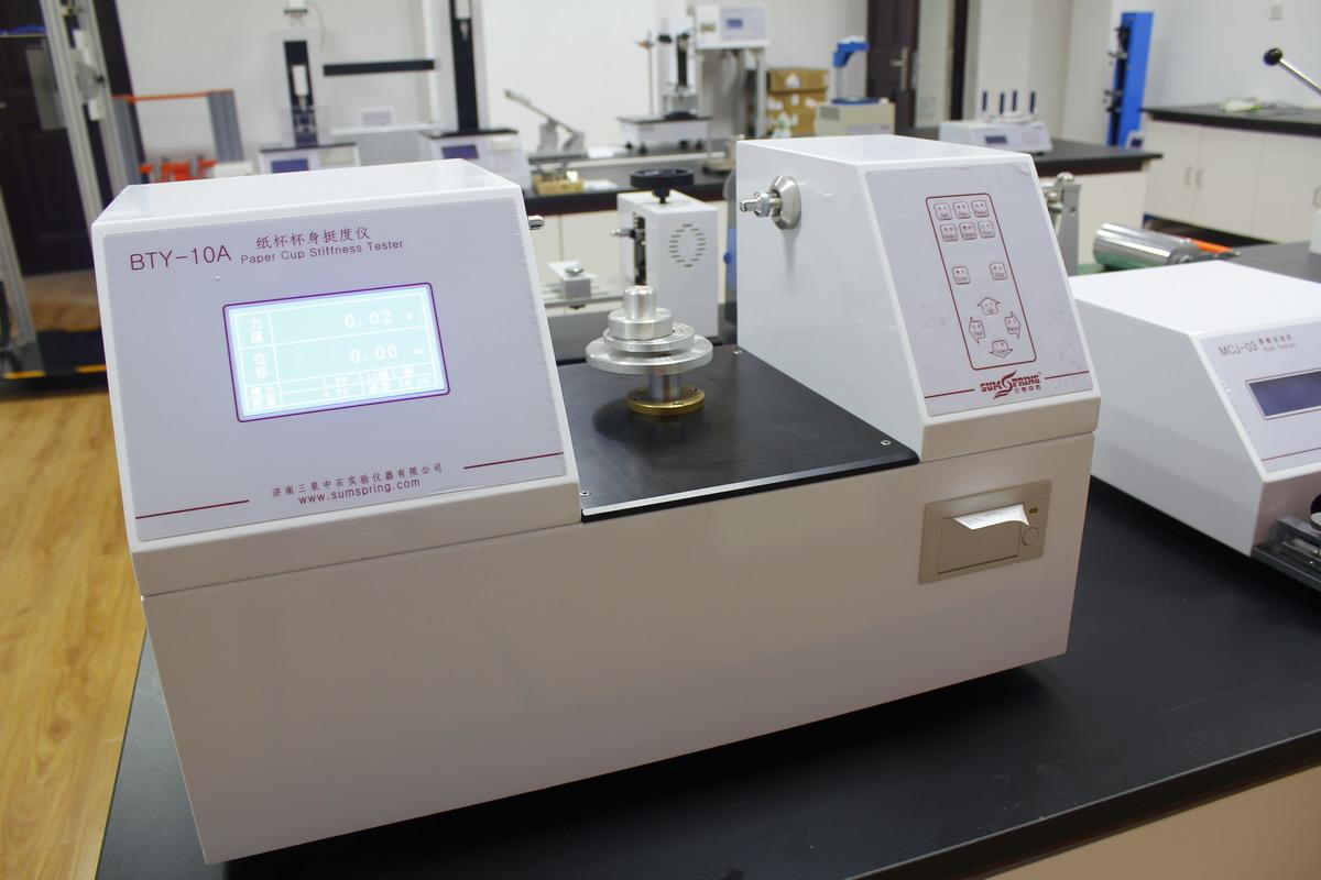 全家桶桶身挺度仪使用步骤   使用设备