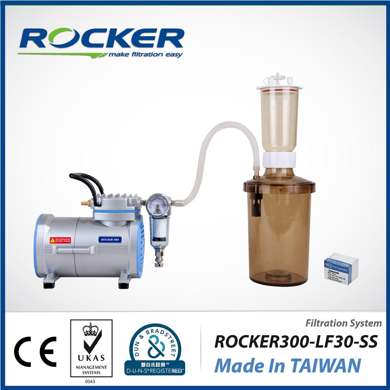 【台湾洛科】Rocker 300 - LF 30 - SS  真空过滤系统