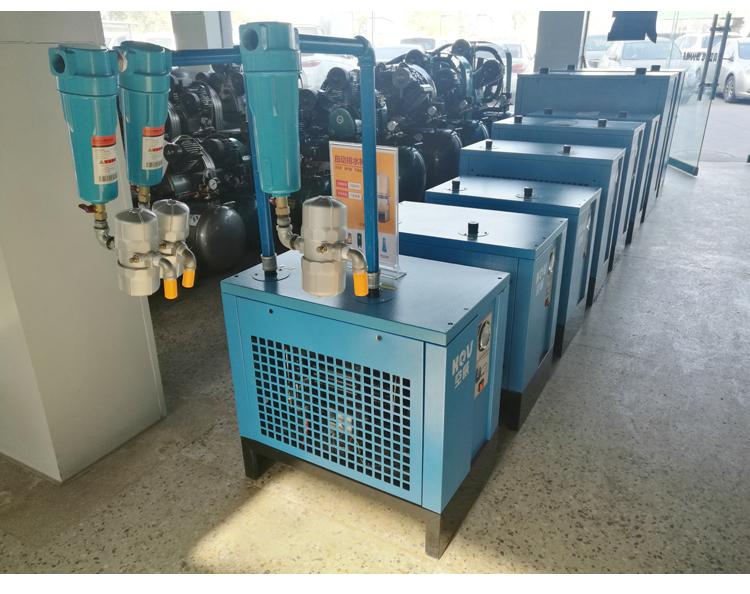 空压机冷干机生产 图片 品牌 冷冻式干燥机四大部件