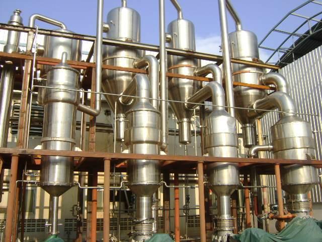 四效降膜蒸发器 冷凝器 梁山县诚达二手化工设备购销部
