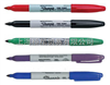 美国三福Sharpie双头红色记号笔