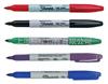 美国三福Sharpie双头黑色记号笔