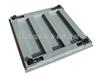 0.8m*1.0m电子地磅秤,2吨带耀华XK3190-A1+P打印电子地磅